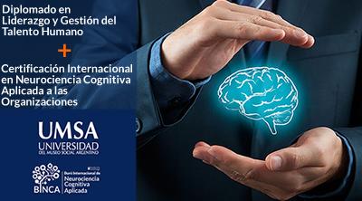 UMSA y BINCA lanzan doble titulación de la Diplomatura en Liderazgo y Gestión del Talento Humano.